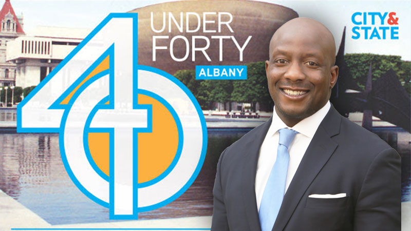 Paul Thomas, Parkside Vice President, Honored by City & State as one of their 40 Under 40 Rising Stars
